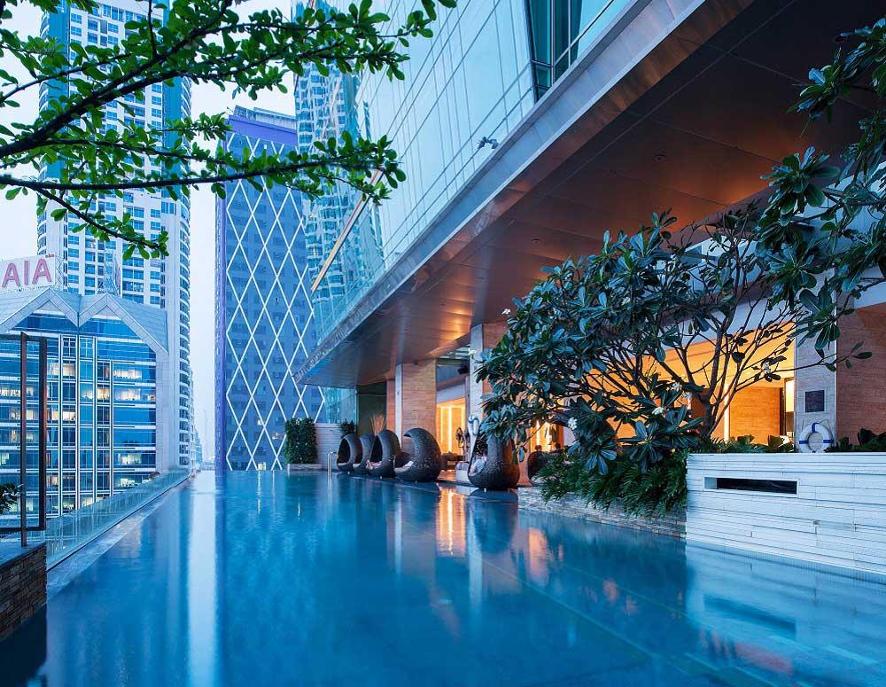 Eastin Grand Hotel Sathorn Luksus Hotel I Bangkok Meget