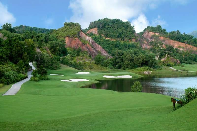 Red Mountain Phuket - Phuket bedste golfbane