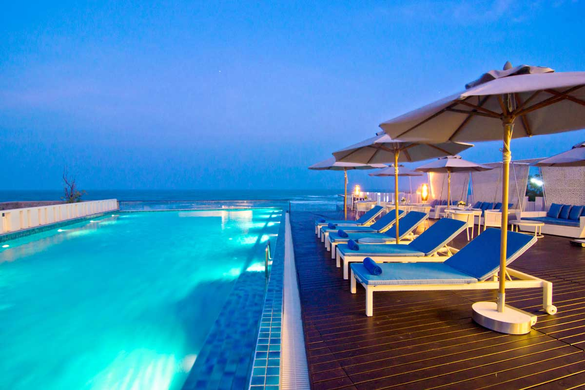 The Rock Beach Resort Hua Hin - Thailand Rejser | Thailandtours.dk
