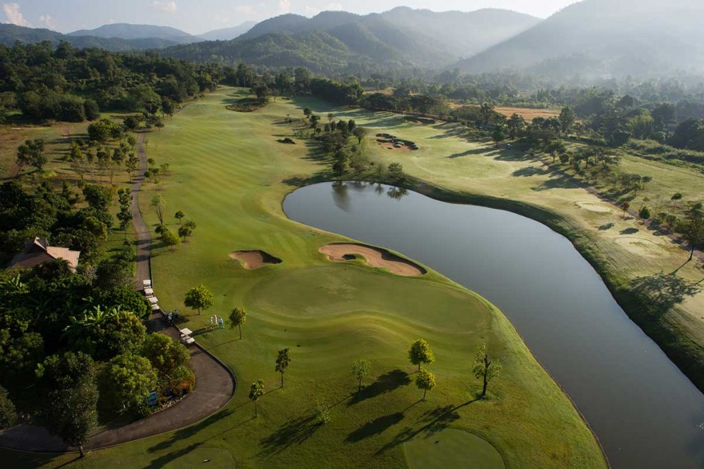 Golf i Chiang Mai – Nordthailands hovedstad. - Thailand
