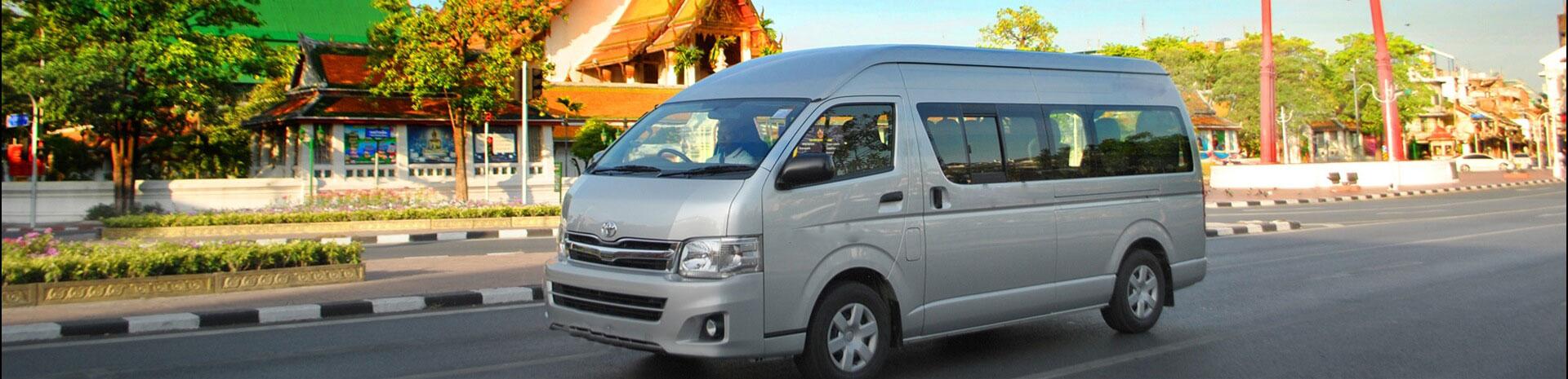 Thailand Tours arrangerer  transport service i Thailand med bil, bus & båd